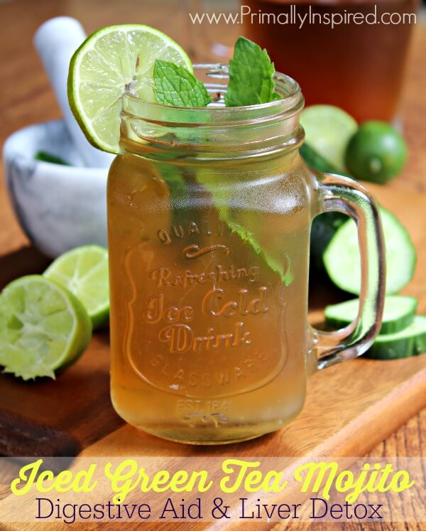 Iced Green Tea Mojito Recipes — Dishmaps